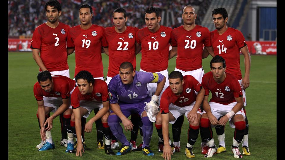 egypten fodbold