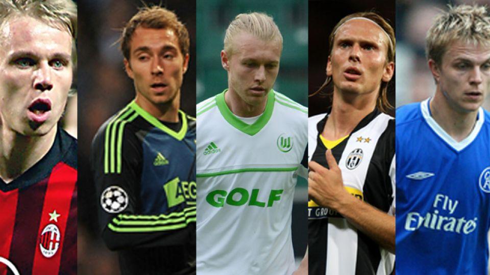 danske fodboldspillere