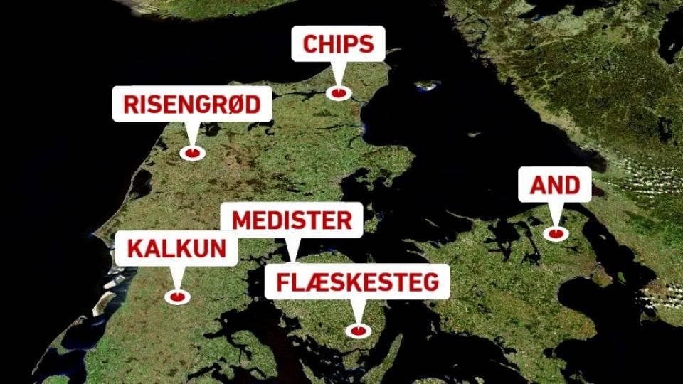 hvad spiser danskerne juleaften
