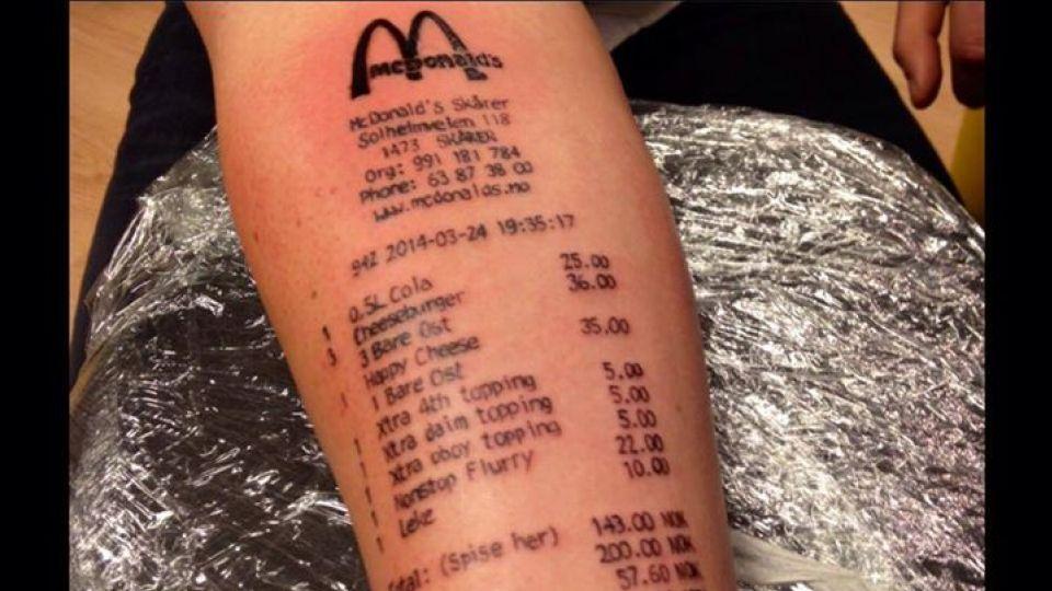 tatovering på underarm