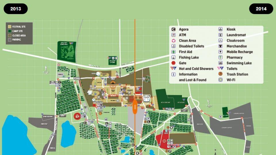 Interaktivt Sadan Har Roskilde Festival Aendret Sig Fra Sidste Ar