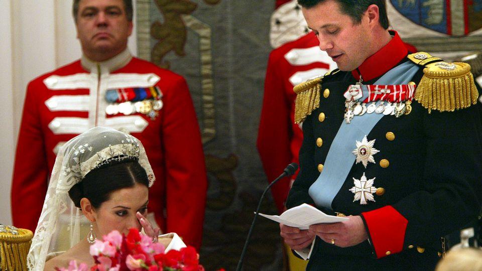 kronprins frederik bryllup