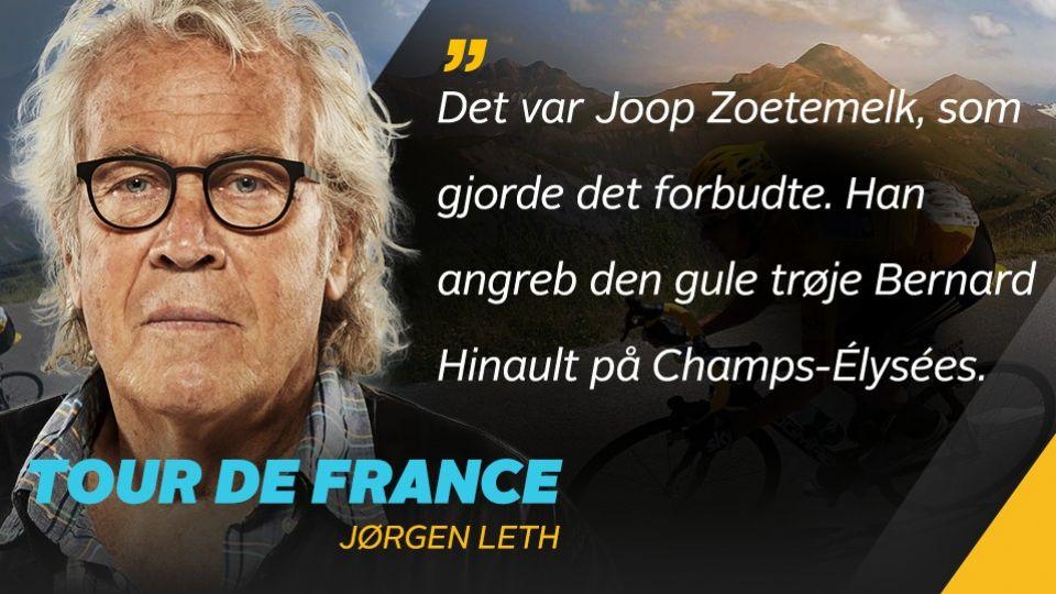 jørgen leth citater Leth beretter om Champs Élysées: Storslået teatralsk finale   TV 2 jørgen leth citater