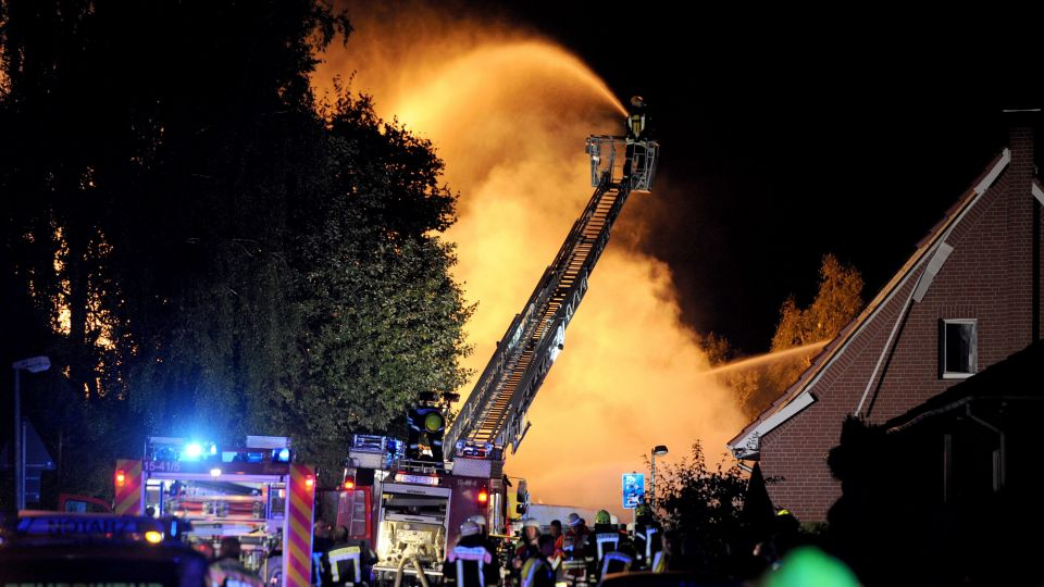 Brand i kemifabrik