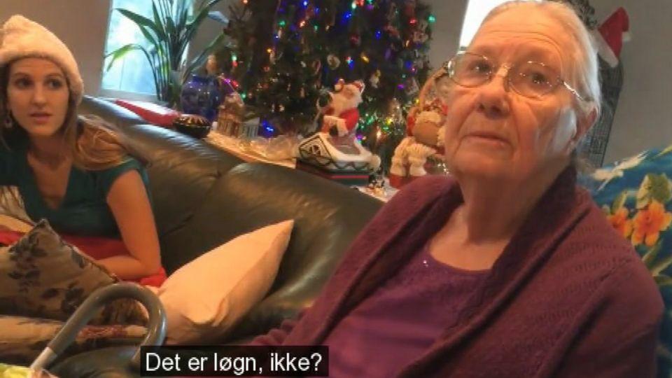 julegave til bedstemor