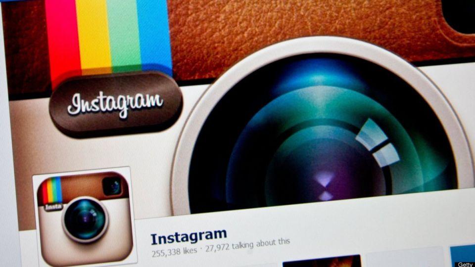 slet konto på instagram