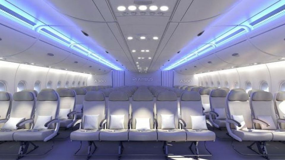 S trang bliver pladsen i airbus 39 k mpefly a380 tv 2 for Broring interieur