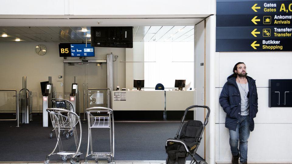 cph lufthavn sikkerhedskontrol