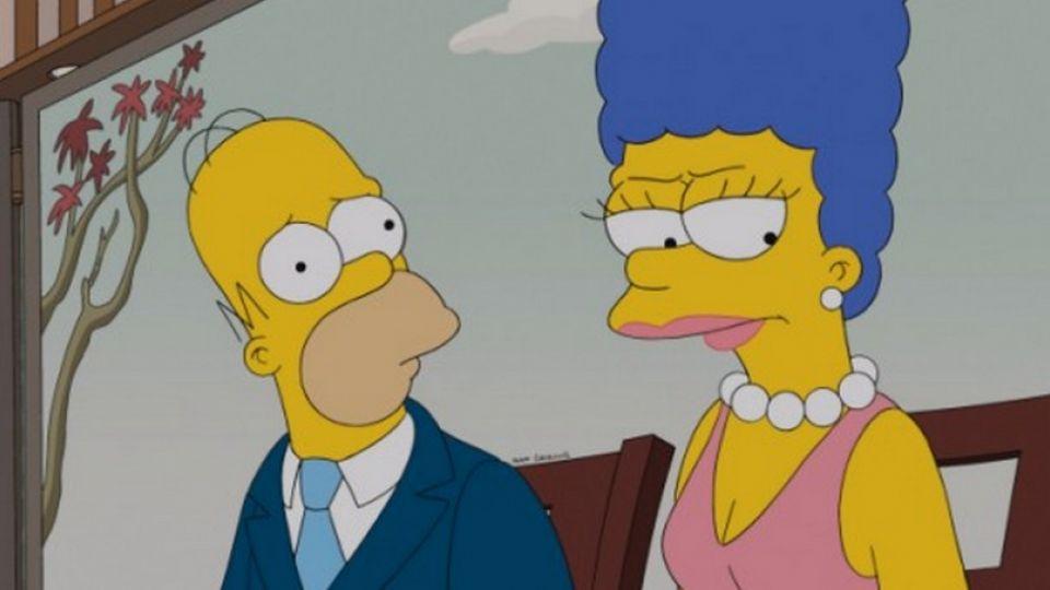 Drama i the simpsons homer og marge skal skilles tv 2 - Homer simpson nu ...