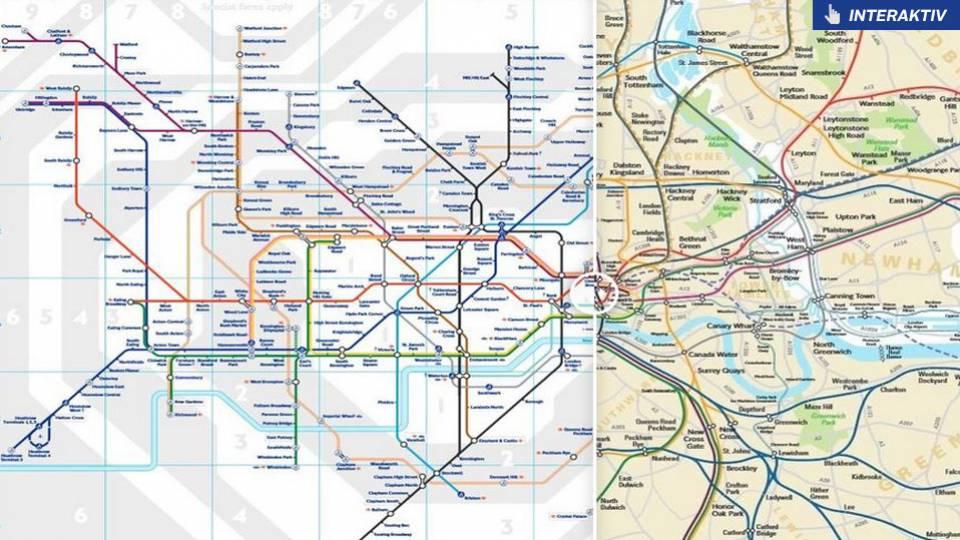 Hemmeligt Kort Afslorer Sadan Ser Londons Metro System I
