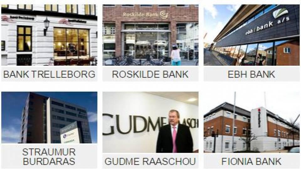 Nyt bankkrak: Disse banker er gået ned siden finanskrisen - TV 2