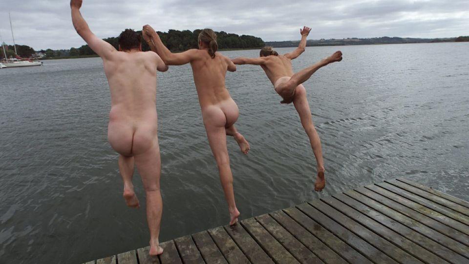 Nikita Klæstrup nøgen den gamle by off