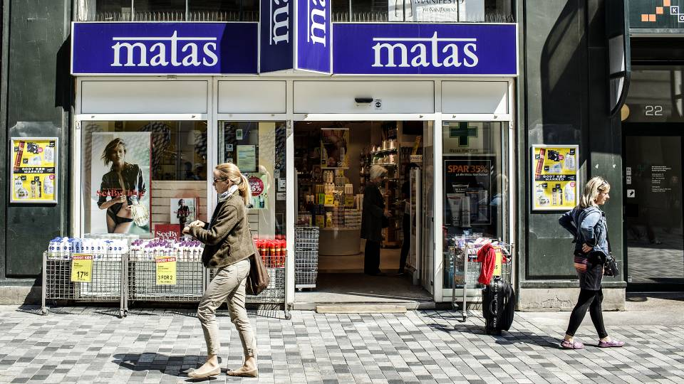 1 million parfume matas hvad er 10 euro i danske penge
