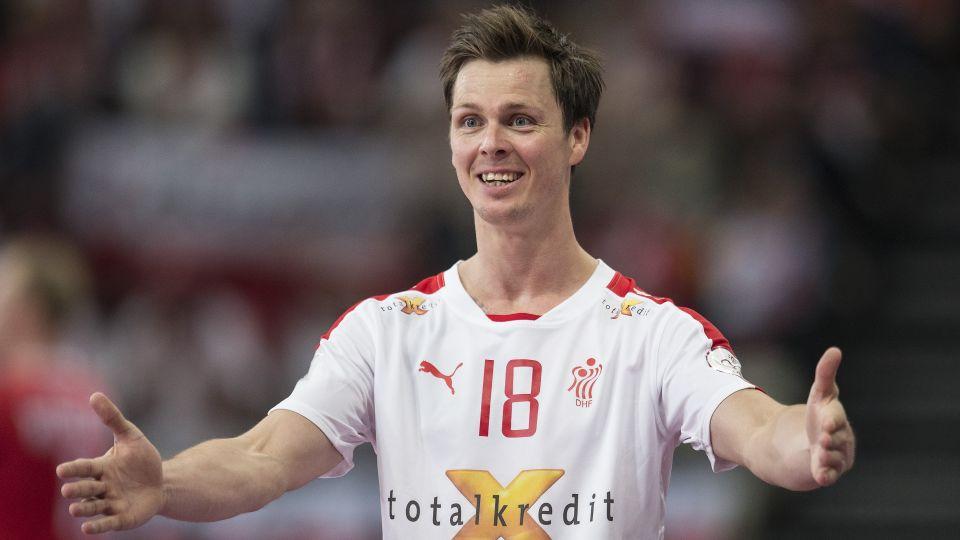 Hans Lindberg i den danske landsholdstrøje