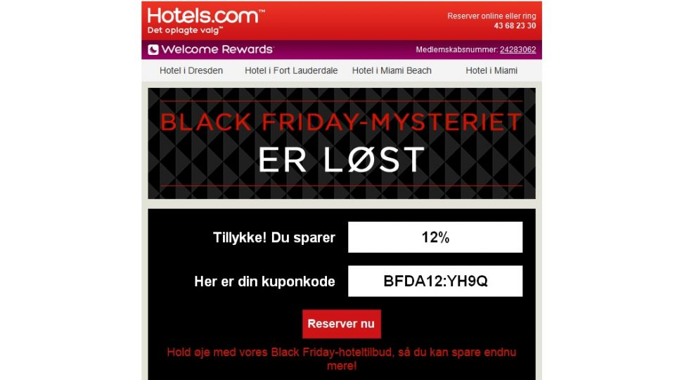 bilka black friday