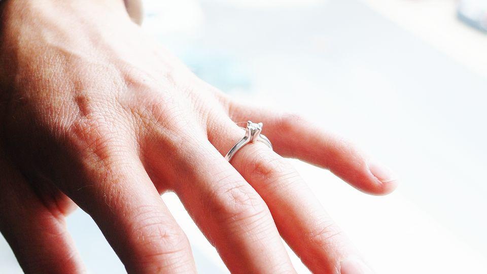 gifte ringer med hjerte