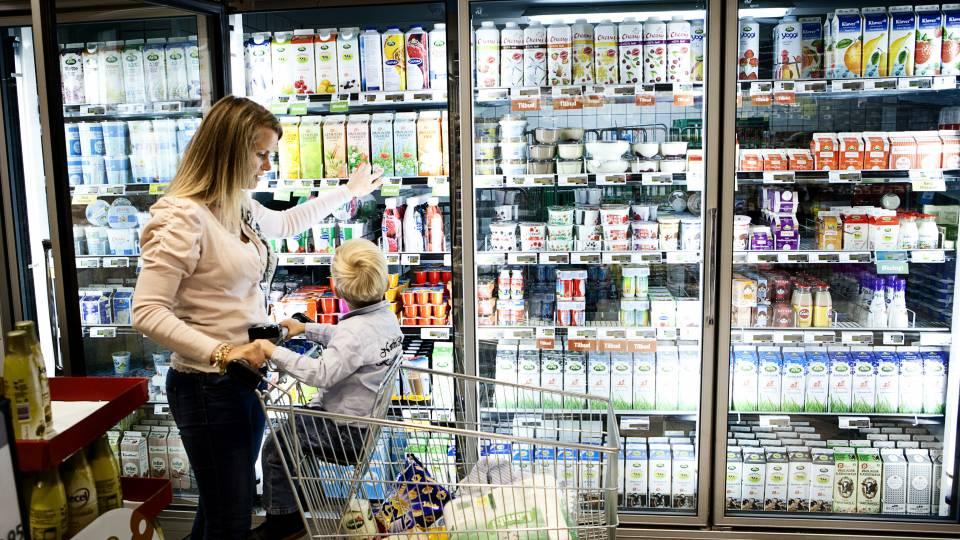 dagligvarer sammenlign priser