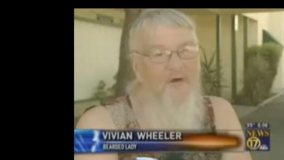kvinder med skæg