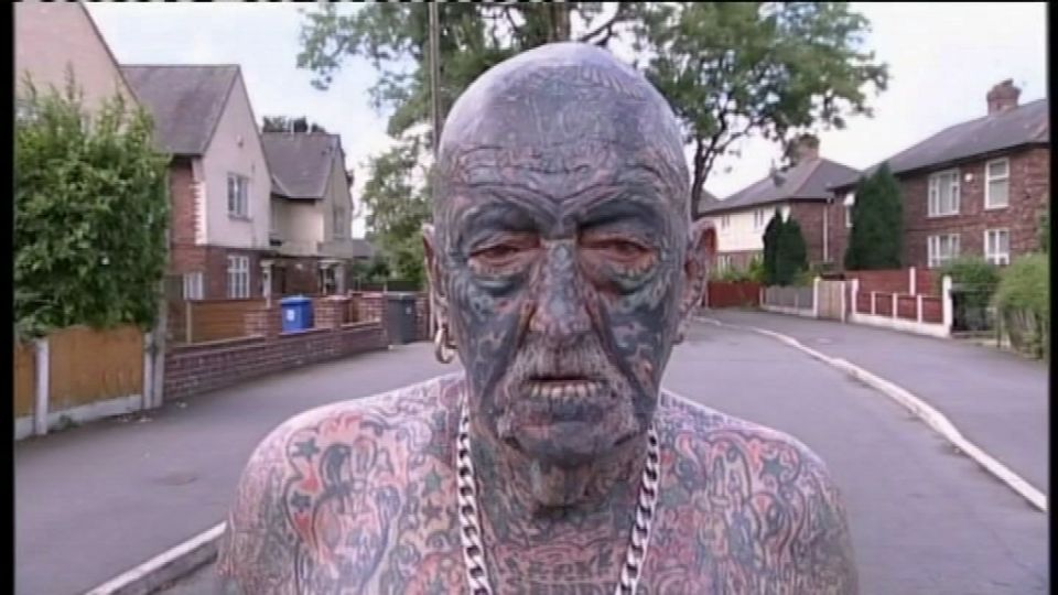 danmarks mest tatoverede mand