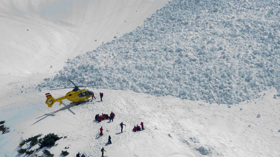 lavine i østrig