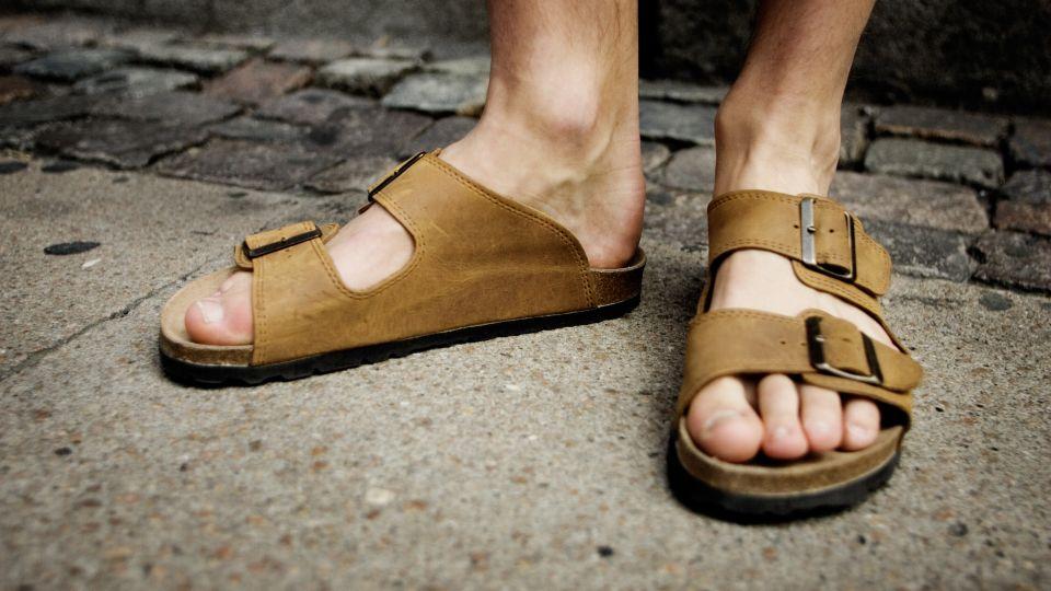 mode sandaler til mænd