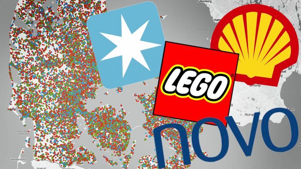 største danske virksomheder