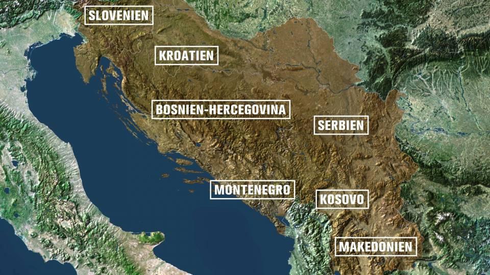 Oplosningen Af Jugoslavien Bid For Bid Tv 2