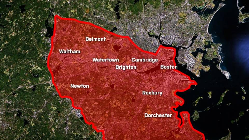 Hele Boston Ramt Af Skuddrama Menneskejagt Lammer Byen Tv 2